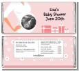Sonogram It's A Girl - Personalized Baby Shower Candy Bar Wrappers thumbnail