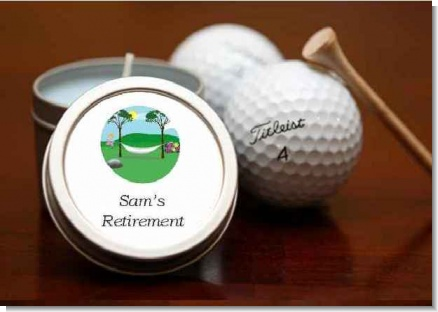 Candle Tins Small Soy Travel Size - Retirement Favors
