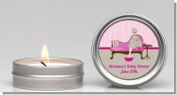 Spa Mom Pink - Baby Shower Candle Favors