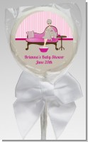 Spa Mom Pink - Personalized Baby Shower Lollipop Favors
