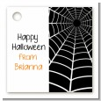 Spider - Personalized Halloween Card Stock Favor Tags thumbnail