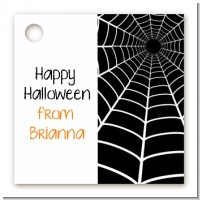Spider - Personalized Halloween Card Stock Favor Tags