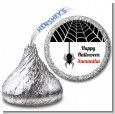 Spider - Hershey Kiss Halloween Sticker Labels thumbnail