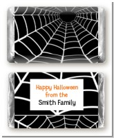 Spider - Personalized Halloween Mini Candy Bar Wrappers