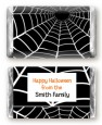 Spider - Personalized Halloween Mini Candy Bar Wrappers thumbnail