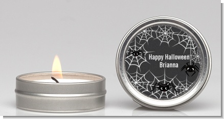 Spider Webs - Halloween Candle Favors