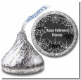 Spider Webs - Hershey Kiss Halloween Sticker Labels thumbnail