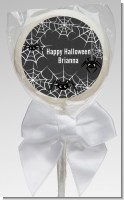 Spider Webs - Personalized Halloween Lollipop Favors