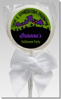 Spooky Bats - Personalized Halloween Lollipop Favors