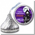 Spooky Haunted House - Hershey Kiss Halloween Sticker Labels thumbnail
