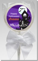 Spooky Haunted House - Personalized Halloween Lollipop Favors