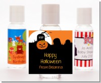 Spooky Pumpkin - Personalized Halloween Hand Sanitizers Favors