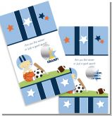 Sports Baby Asian - Baby Shower Scratch Off Game Tickets