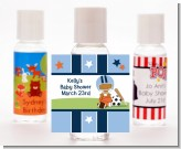 Sports Baby African American - Personalized Baby Shower Hand Sanitizers Favors