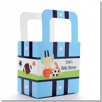 Sports Baby Asian - Personalized Baby Shower Favor Boxes