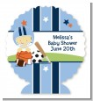 Sports Baby Asian - Personalized Baby Shower Centerpiece Stand thumbnail