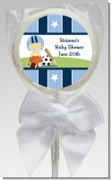 Sports Baby Asian - Personalized Baby Shower Lollipop Favors