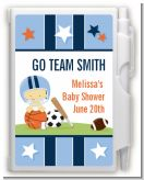 Sports Baby Asian - Baby Shower Personalized Notebook Favor