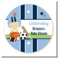 Sports Baby Asian - Personalized Baby Shower Table Confetti thumbnail