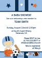 Sports Baby Caucasian - Baby Shower Invitations thumbnail