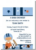 Sports Baby Hispanic - Baby Shower Petite Invitations