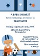 Sports Baby Hispanic - Baby Shower Invitations thumbnail