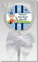 Sports Baby Hispanic - Personalized Baby Shower Lollipop Favors