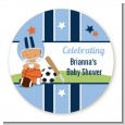Sports Baby Hispanic - Personalized Baby Shower Table Confetti thumbnail