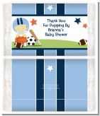 Sports Baby Asian - Personalized Popcorn Wrapper Baby Shower Favors