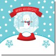 Snow Globe Winter Wonderland Birthday Party Theme thumbnail