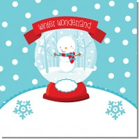 Snow Globe Winter Wonderland Birthday Party Theme