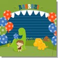 Dinosaur and Caveman Birthday Party Theme thumbnail