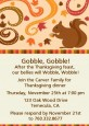Acorn Harvest Fall Theme - Thanksgiving Invitations thumbnail