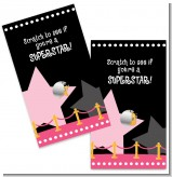A Star Is Born Hollywood Black|Pink - Baby Shower Scratch Off Game Tickets
