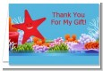 Starfish - Birthday Party Thank You Cards thumbnail