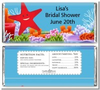 Starfish - Personalized Birthday Party Candy Bar Wrappers