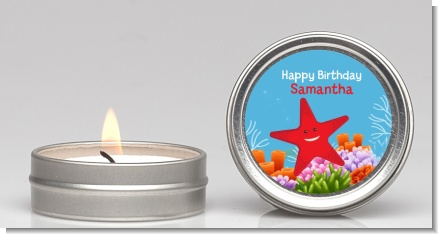 Starfish - Birthday Party Candle Favors