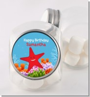 Starfish - Personalized Birthday Party Candy Jar