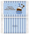 1st Birthday Topsy Turvy Blue Cake - Personalized Popcorn Wrapper Birthday Party Favors thumbnail