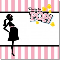 Ready To Pop Pink Baby Shower Theme