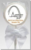 St. Louis Skyline - Personalized Bridal Shower Lollipop Favors