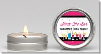 Stock the Bar Cocktails - Bridal Shower Candle Favors