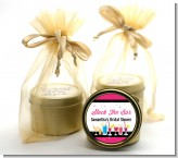 Stock the Bar Cocktails - Bridal Shower Gold Tin Candle Favors