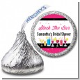 Stock the Bar Cocktails - Hershey Kiss Bridal Shower Sticker Labels thumbnail