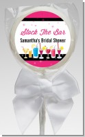Stock the Bar Cocktails - Personalized Bridal Shower Lollipop Favors