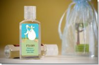 Stork It's a Boy - Personalized Baby Shower Hand Sanitizers Favors