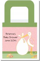 Stork It's a Girl - Personalized Baby Shower Favor Boxes
