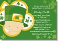 St. Patrick's Baby Shamrock - Baby Shower Invitations thumbnail