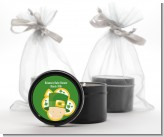 St. Patrick's Baby Shamrock - Baby Shower Black Candle Tin Favors