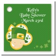 St. Patrick's Baby Shamrock - Personalized Baby Shower Card Stock Favor Tags thumbnail